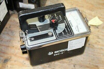 Bicron Rso-5 Radiation Survey Meter
