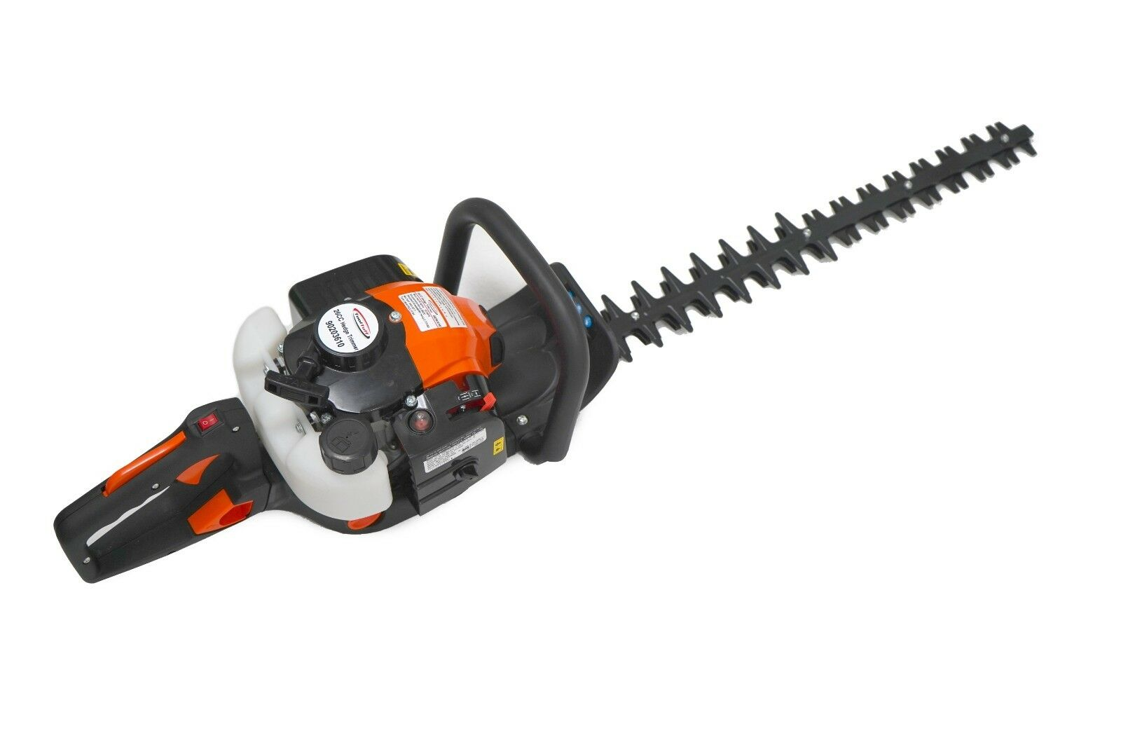 """ToolTuff 24"""" Blade Hedge Trimmer, 26cc Gas Power, Double Sid"""