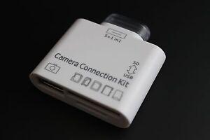 5in1 Camera Connection Kit M2 MMC USB SDHC TF SD MS Kartenleser für iPad 1 2 3