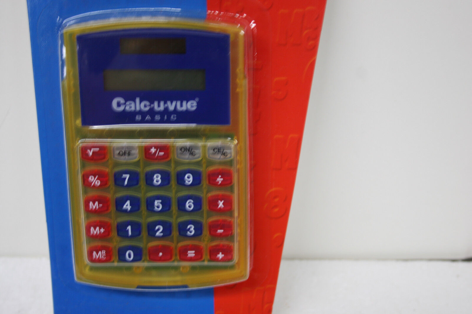 Learning Resources LER 0058 Calc-u-vue Basic Learning Resources Calculator