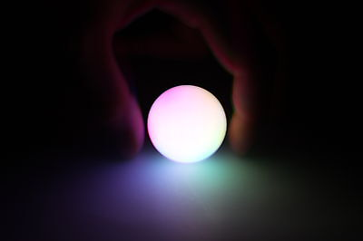 Glow Orb Ring Amazing Space Effect Batteries Included Multi-Color Bright LED's