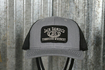 Vintage Jack Daniels Tennessee Whiskey Patch on a Richardson 112 Trucker Hat