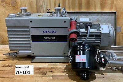 Ulvac Vdn601 Vacuum Pump New Surplus 90 Day Warranty