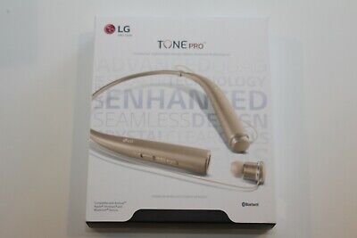 GENUINE LG Tone Pro HBS-780 Wireless Bluetooth Headset - Gold NEW SEALED