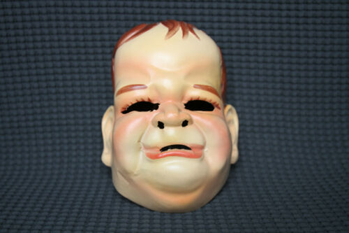 Vintage, Adult Cry Baby Halloween mask