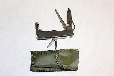 BW Taschenmesser Einhandöffnung Bundeswehr Messer Neu mit Tasche
