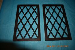 Side Access Wood Panels for modern GRANDFATHER CLOCK Set of 2 for project