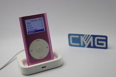 Apple iPod mini 2. Generation Rosa (4GB) 2G MP3 player ( Rarität 2003) #M30 2. Generation 4gb Mp3-player