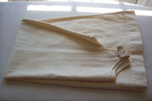 Genuine Antique Victorian Edwardian Wool CHALLIS Petticoat Slip Fabric 4 Doll