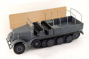 Sd-Kfz-9-FAMO-18-ton-Half-Track-Germany-1-43-Altaya-Ixo-Eaglemos-Diecast