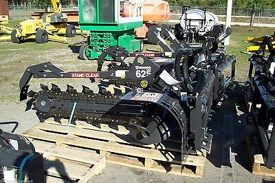 Bradco 625 Skid Steer Trencher 48 Depth 6 Digging Widthtwo Position Digging