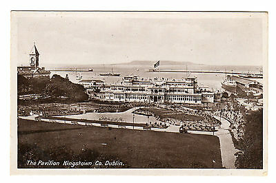 The Pavilion - Kingstown Co Dublin Real Photo Postcard c1910