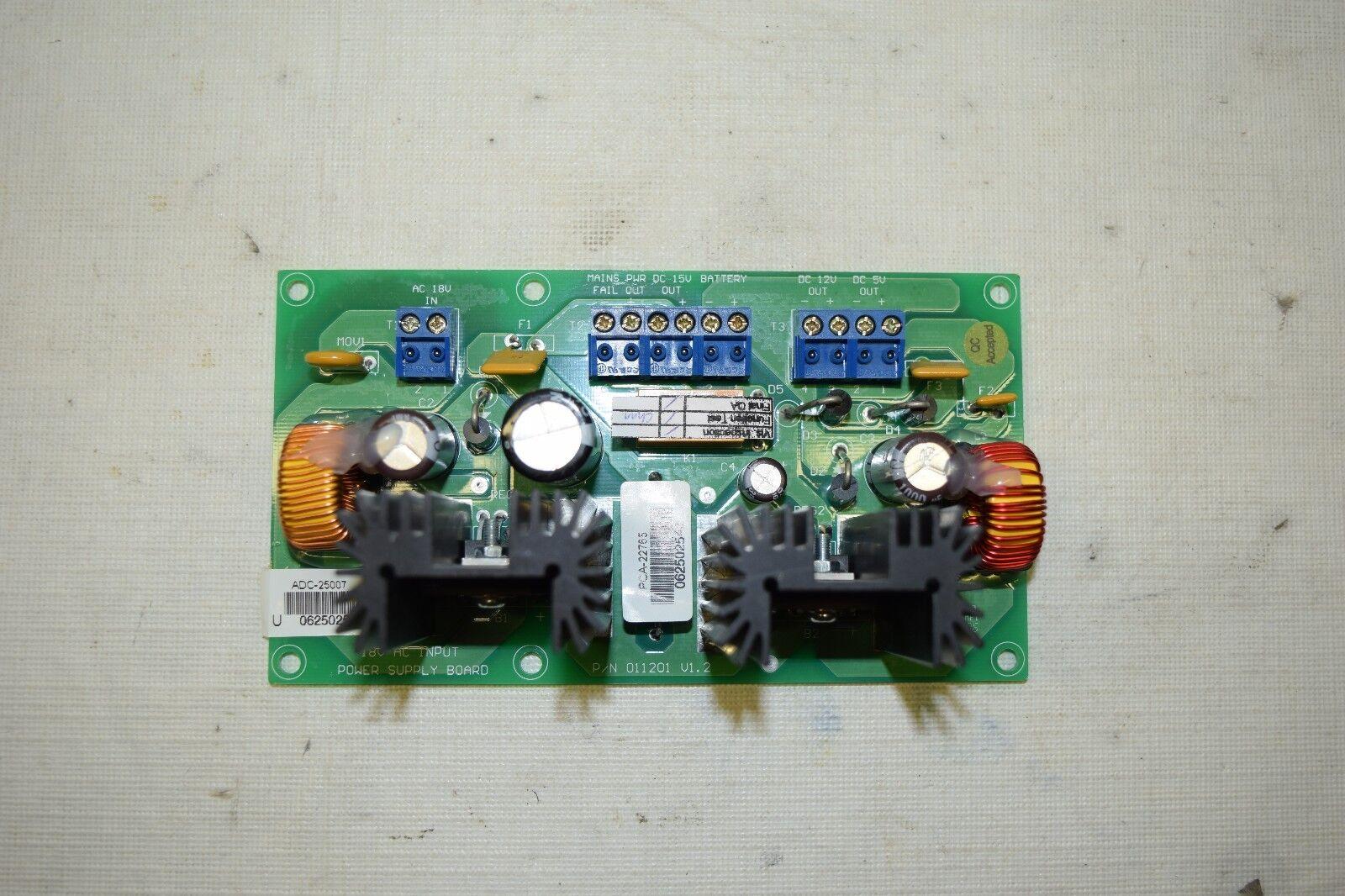 Bosch Access Easy Controller Power Supply Board ADC-25007 P/N 011201 Door Contro