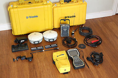 Trimble Dual R8 Model 3 Gps Gnss Glonass Base Rover Rtk System W Tsc3 Tdl-450h