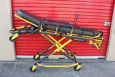 Stryker Mx-pro 600lb Ambulance Stretcher Straps Iv Pole O2 Gurney Ems Ferno