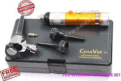 Veterinary Diagnostic Examination Otoscope Set Premium Ent Instruments Student