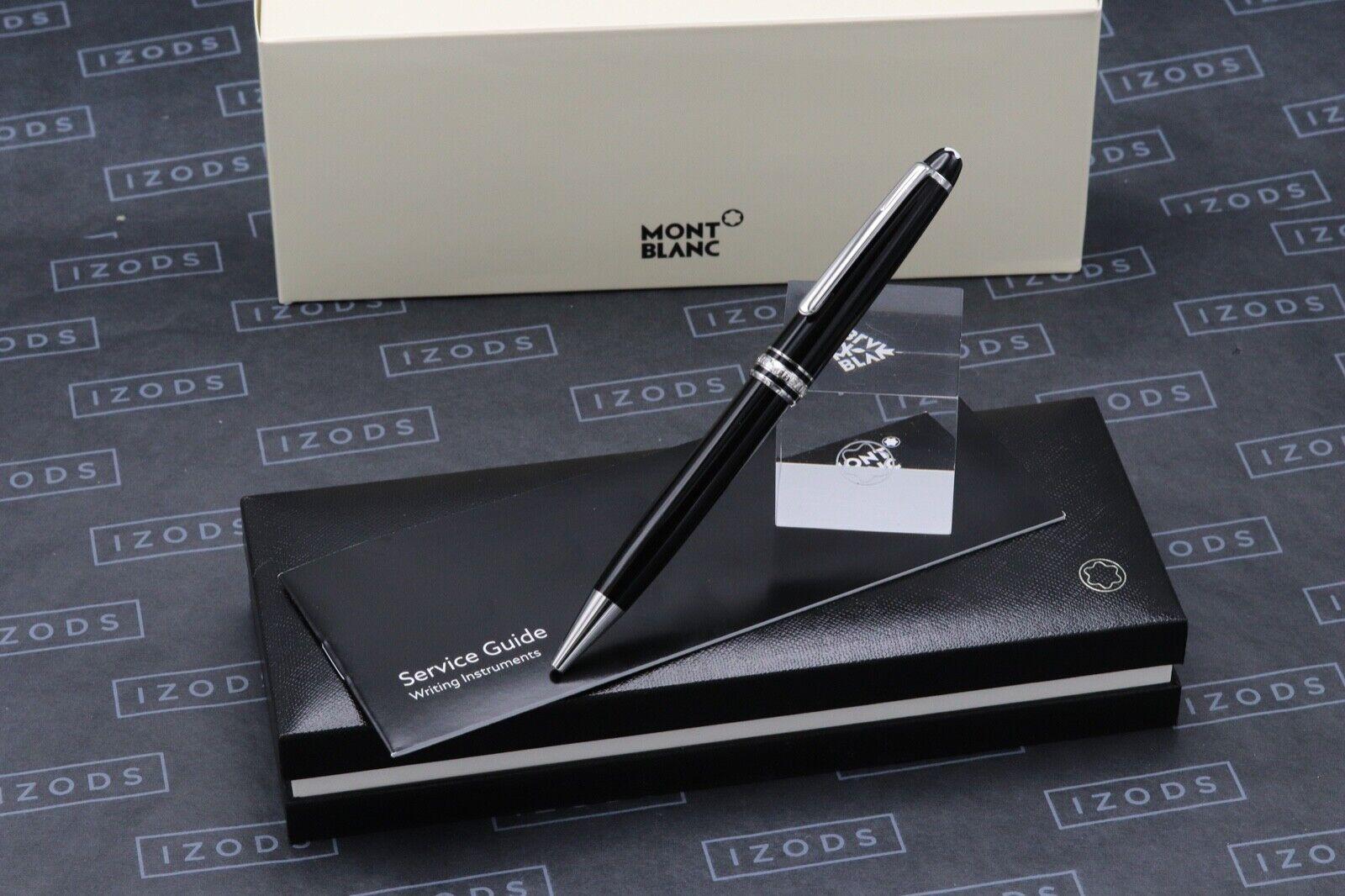 Montblanc Meisterstuck 164 Classique Platinum Line Ballpoint Pen