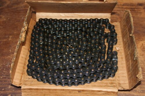 """Morse Roller Chain Acme #40, 1/2"""" Pitch, Riveted, in Orig. Package, ASA, 10 Feet"""