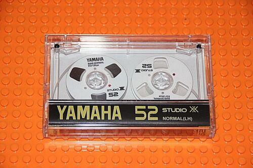 """""""YAMAHA"""" CUSTOM-MADE  WHITE   TYPE I   NEW REEL CASSETTE TAPE (1)"""