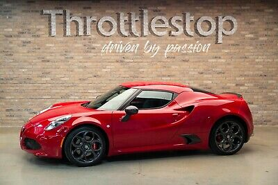 2015 Alfa Romeo 4C Launch Edition One-Owner, Low Mileage Launch Edition 2015 Alfa Romeo 4C