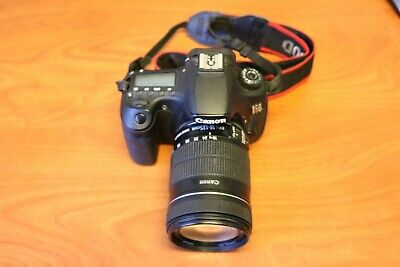 Canon EOS 60D 18MP DSLR Camera with 18-135mm Lens Used Extra Battery & Charger
