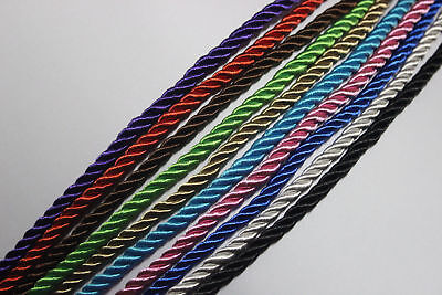 1/3/5 Meters 5mm Twisted Soutache Braided Rope/Cord Choose Your Colors