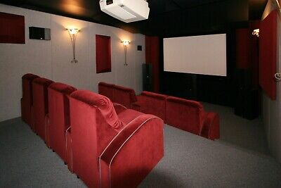 HomeTheater Complete Acoustical Treatment for dedicated Home Theater