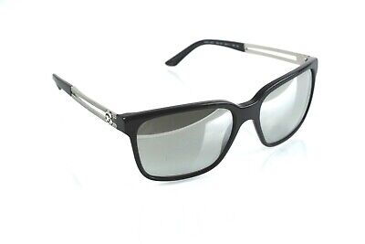 New Versace Mod 4307 Sunglasses Mirrored Lenses, Black w/Silver Arms Pure Class