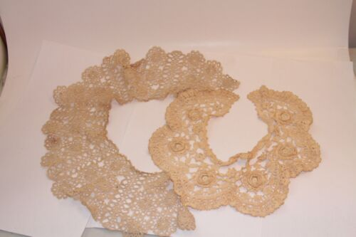 Antique Vintage Lace, Embroidered & Crochet Collars 3 1914