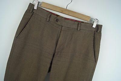 T28 Hiltl original regular casual flat front trousers size GB 32 / F42