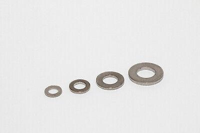 Titan Unterlagscheiben U-Scheiben DIN 125 Grade 2 Verpackungseinheit 5 Stück (Verpackungseinheit)