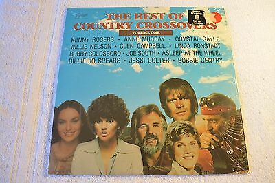 33 Rpm Lp Record The Best Of Country Crossovers Vol 1 1979 Excelsior Xlp 88000