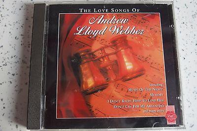 Компакт-диски Love Songs of Andrew Lloyd