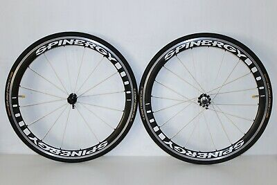SPINERGY RIM DECALS SET FOR TWO WHEELS FULL RED VERSION
