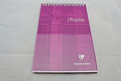 Clairefontaine Wirebound Notepad 6 X 8 Graph Purple