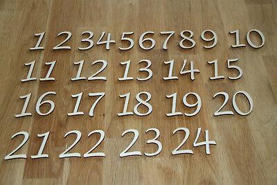 Große Zahlen aus Holz 50mm Basteln Geburtstag Jahrestag