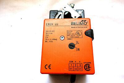 Belimo Lm24-sr-t Us Hvac Damper Motor Actuator 24vdcac 95 Degrees Lm Series
