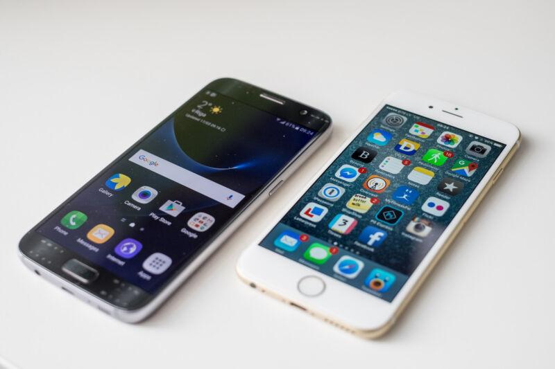 Das iPhone ist eine gute Alternative zum Galaxy S7. (Kārlis Dambrāns (CC BY 2.0))