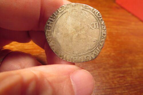 Charles I Hammered Silver Shilling 1625-1649 England