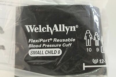 Welch Allyn Flexiport Reusable Blood Pressure Cuff Small Child Reuse-08 New