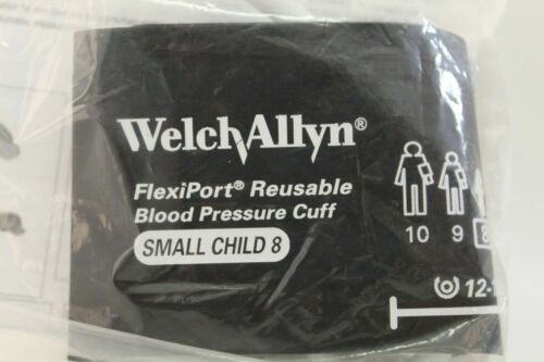 Welch Allyn FlexiPort® Reusable Blood Pressure Cuff, Small Child REUSE-08, NEW