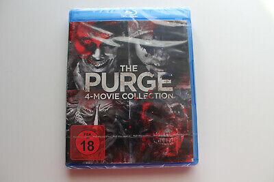 The Purge 1-4, Blu-Ray Box