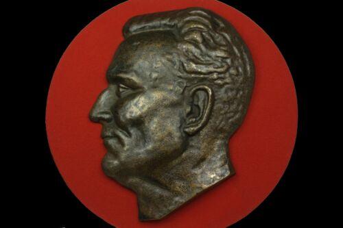 RARE Josip Broz TITO Bronze Head relief Yugoslavia Jugoslavija figure sculpture