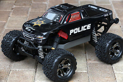 Police Custom (Custom Body Police Style for Traxxas Stampede 1/10 Truck Car Shell)