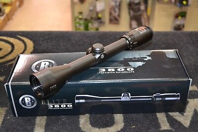 "Bushnell Elite 3500 4-12x40mm Matte Black 1"" Tube DOA 600 NIB 354124B"