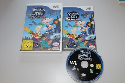 er durch die 2. Dimension Nintendo Wii (Phineas Und Ferb)
