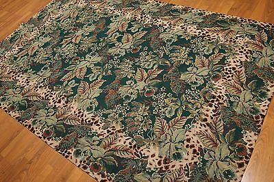Aubusson Area - 6' x 9' Hand woven French Needlepoint Aubusson 100% wool Area rug 6x9
