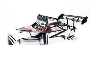 Rovan Internal Roll Cage, Body Panels, L.E.D Light Bar Fits HPI Baja 5T 5SC KM