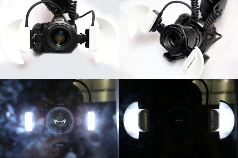 Canon Mt-24EX Turtledove Flash Diffuser by Macroscopic Solutions