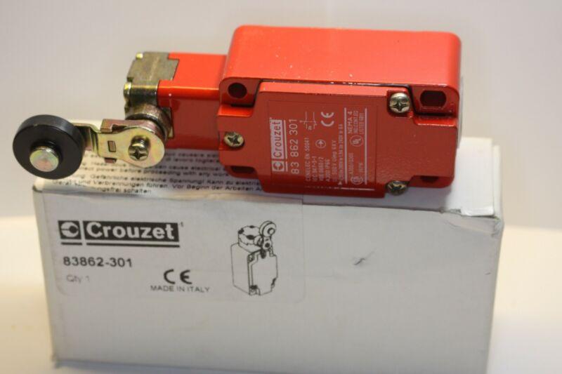 """CROUZET LIMIT SWITCH 83-862-301 IP NEMA 4 CONNECTION 1/2"""" NPT"""
